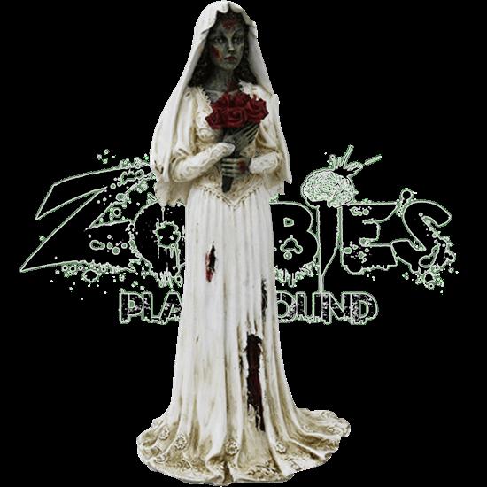 Zombie Bride Statue