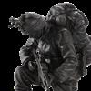 Praying Soldier Statue