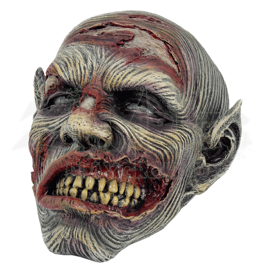 Decayed Zombie Head