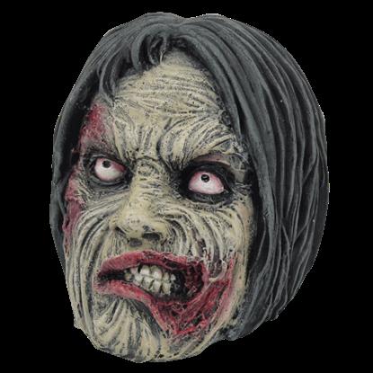 Grimacing Zombie Head