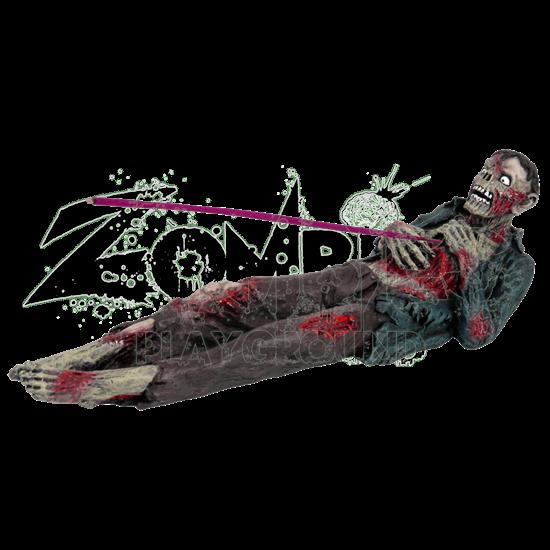 Impaled Zombie Incense Burner