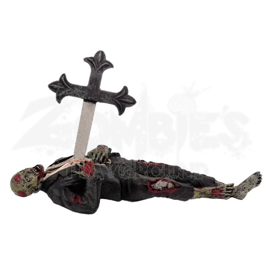 Impaled Zombie Letter Opener