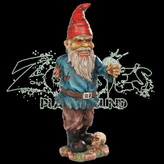 Zombified Garden Gnome Statue