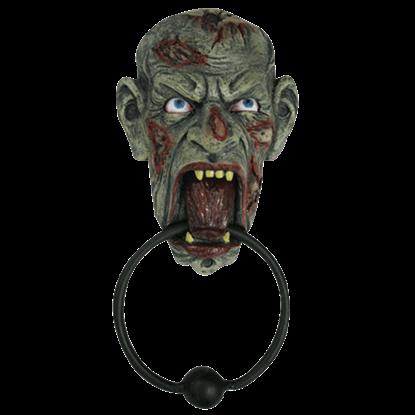 Hungry Zombie Door Knocker