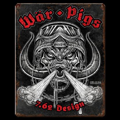 War Pigs Vintage Steel Sign
