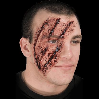 Shredded Face Prosthetic