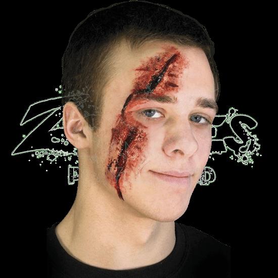 Slashed Eye Face Prosthetic