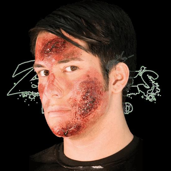 Road Rash Burn Wound Prosthetic