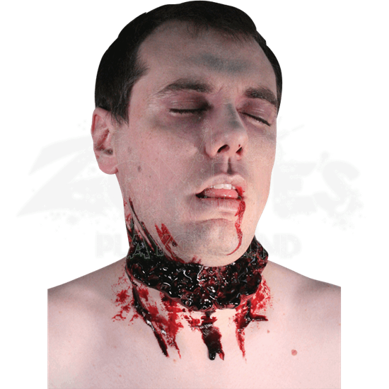 Gurgle Neck Wound Prosthetic