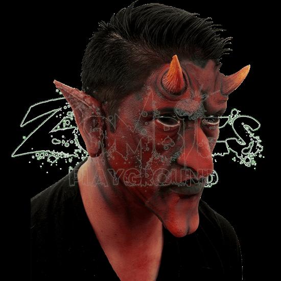Red Devil Ears Latex Appliance