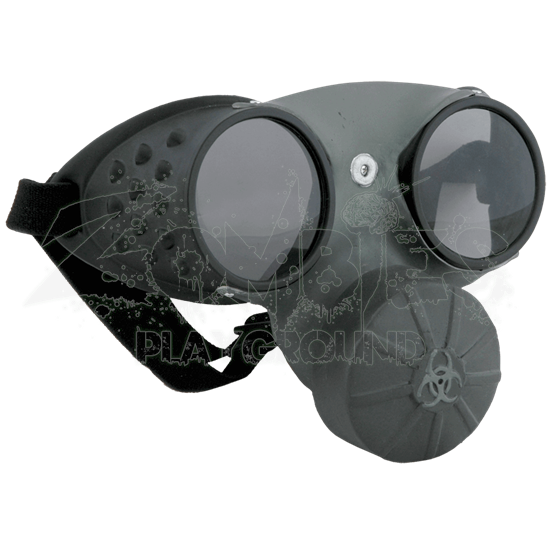 Costume Gas Mask Goggles
