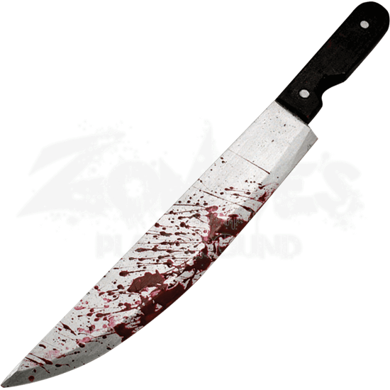 Bloody Carving Knife Prop