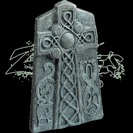 Celtic Cross Tombstone Prop
