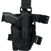 Black Drop Leg Pistol Holster