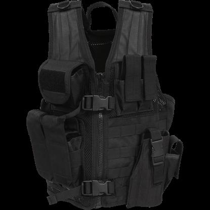 Quick Draw Black Tactical Vest