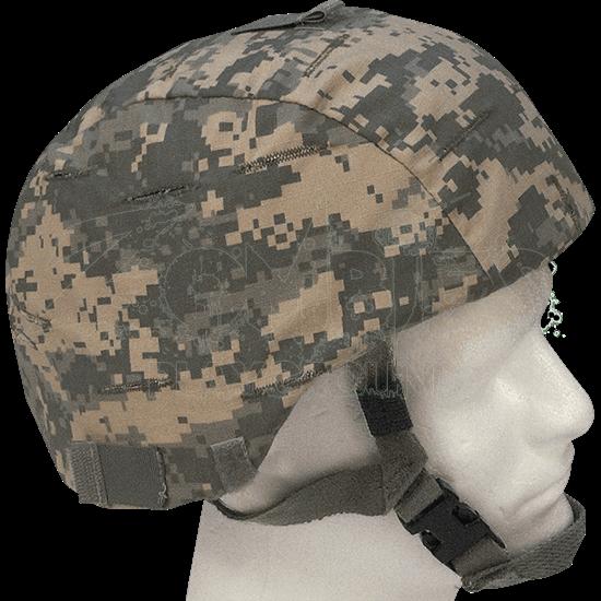 ACU Digital Camo Helmet Cover