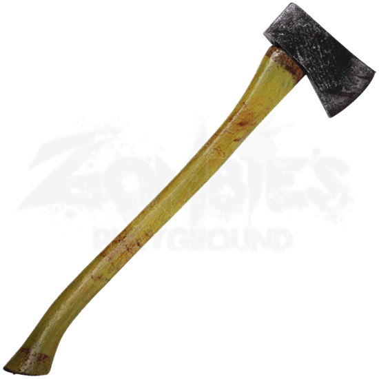 LARP Bloody Woodsman Axe