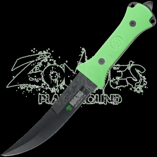 Green Zombie Jambiya Knife