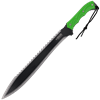 Dual Colored Biohazard Sawback Machete