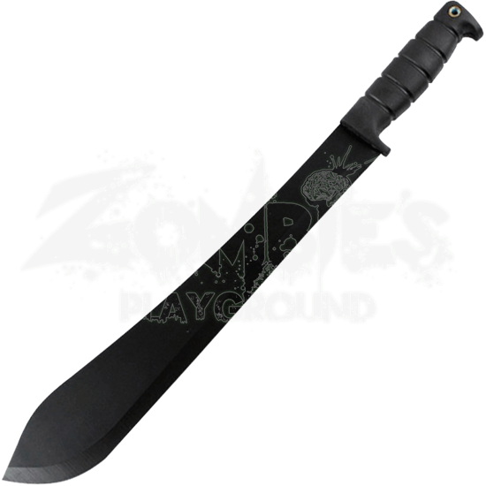 Black Steel Bolo Machete