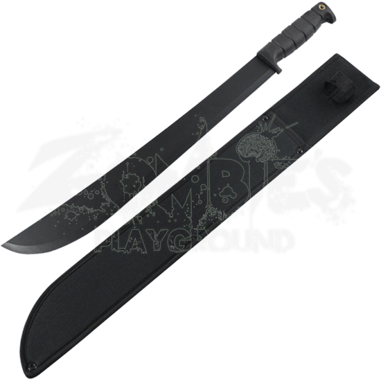 Black Steel Bush Machete
