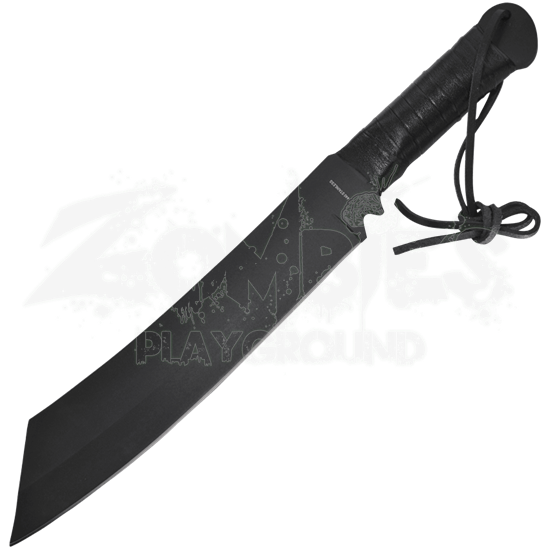 Black Survival Cleaver Machete
