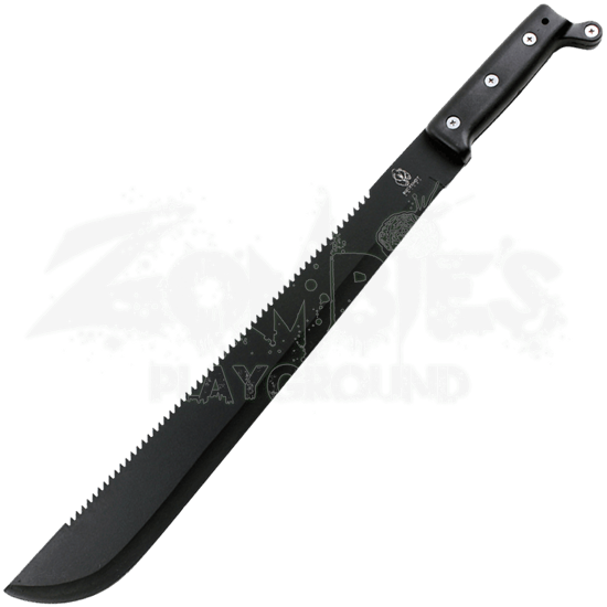 Black Sawback Bush Machete