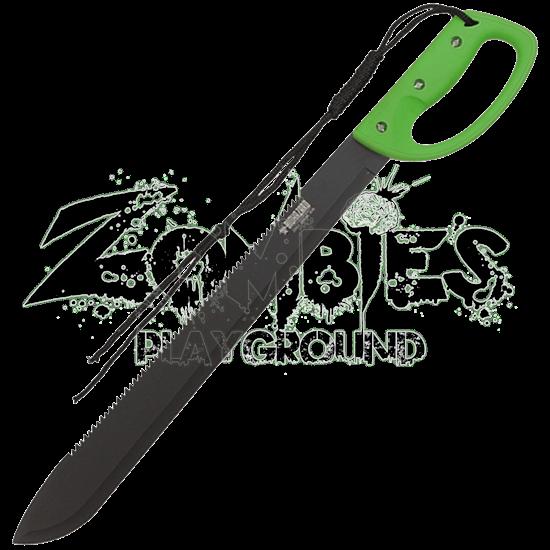 Zombie Survival Sawback Bush Machete