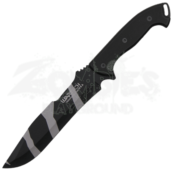 Camo Blade Survival Knife