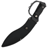 Black Sawback Kukri Machete
