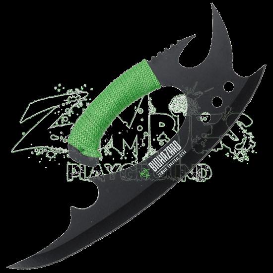 Zombie Biohazard Hand Knife