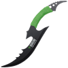 Zombie Biohazard Curved Knife