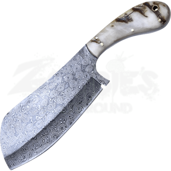Damascus Steel Cleaver
