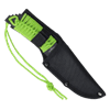 Green Paracord Zombie Utility Knife