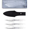Silver Hornet Throwing Knife Set