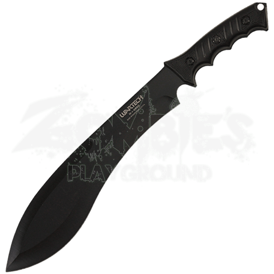 Black Kukri Survival Knife