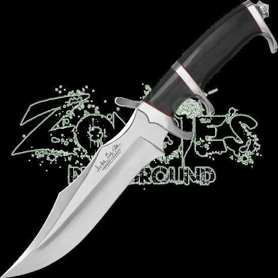 Curved Blade Fighter Knife