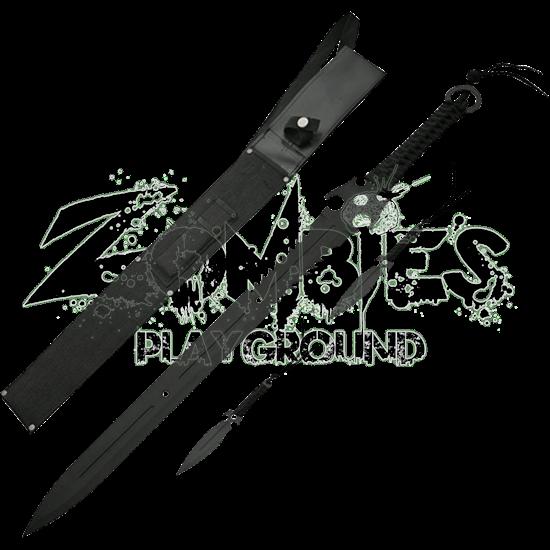 Dead Walker Skull Sword and Throwers