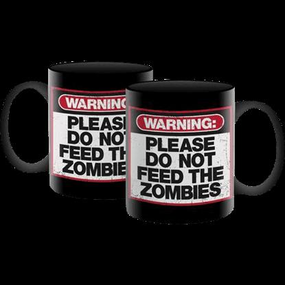 Zombie Warning Mug
