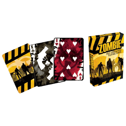 Zombie Post Apocalypse Playing Cards