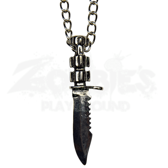 Soldier's Fighting Knife Necklace