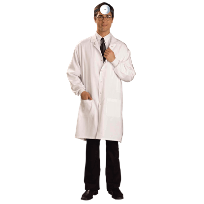 White Scientist's Lab Coat