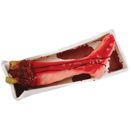 Severed Bloody Leg