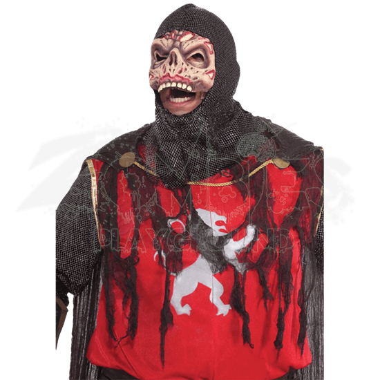 Crusader Zombie Costume With Mask