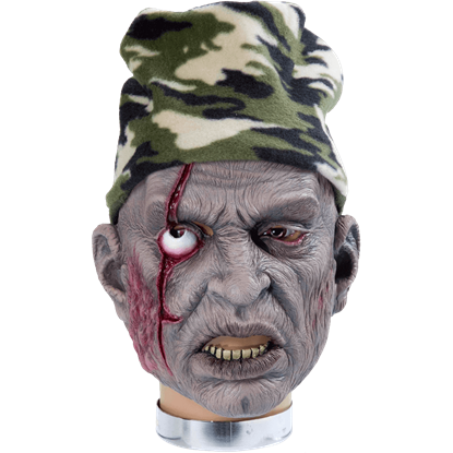 Hunter Zombie Mask With Hat