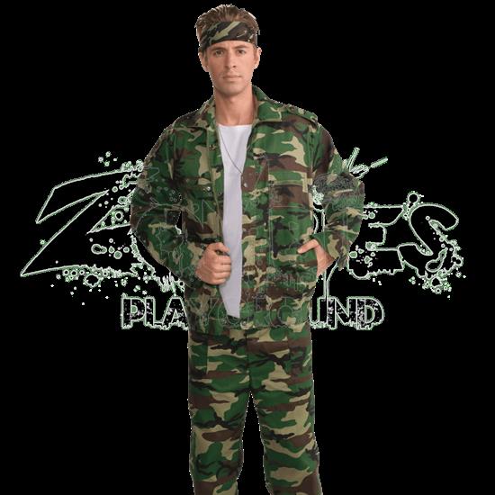 Camouflage Combat Jacket