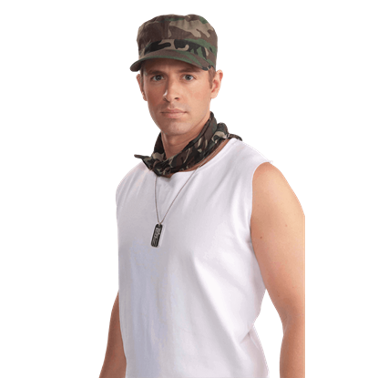Camouflage Patrol Cap