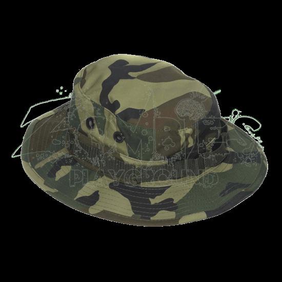 Camouflaged Combat Boonie Hat