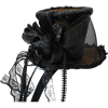 Brown Steampunk Headband Hat