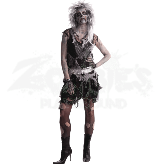 Women's Punk Zombie Costume